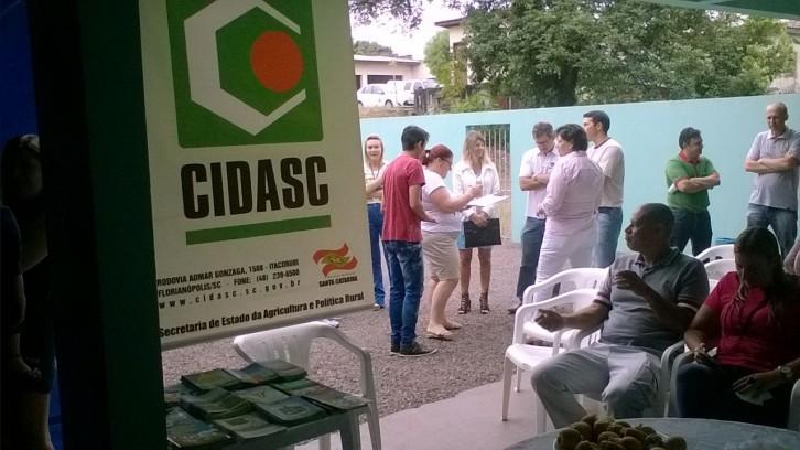 Foto: Departamento Regional da Cidasc de Saõ Miguel do Oeste